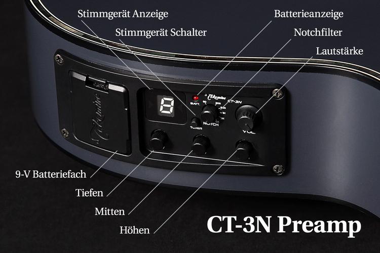 Takamine CT-3N Regler