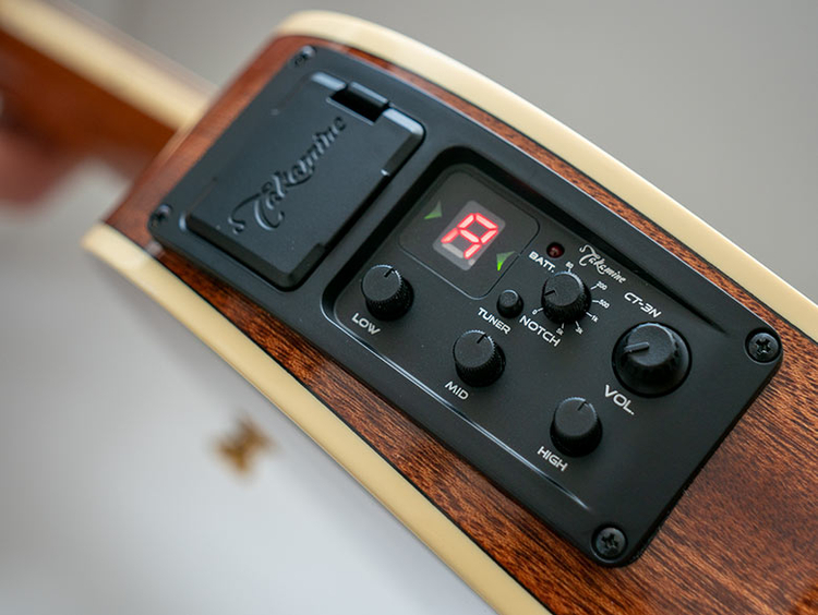 Takamine CT-3N Preamp Detail