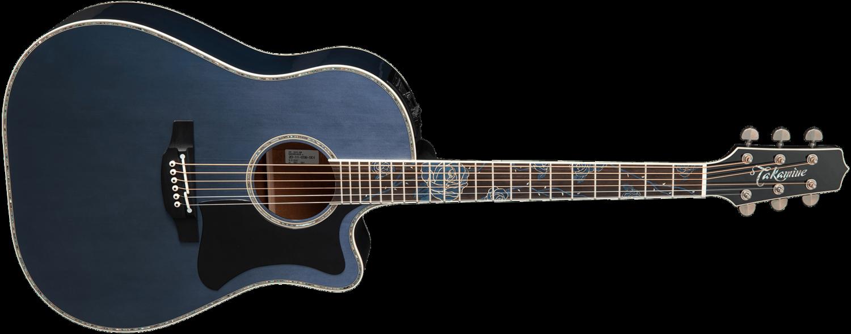 Takamine LTD2021 Blue Rose