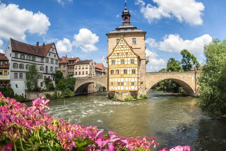 Inspiration für die Einlegearbeit - Stadt Bamberg