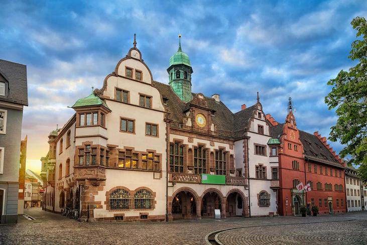 Inspiration für die Einlegearbeit - Stadt Freiburg