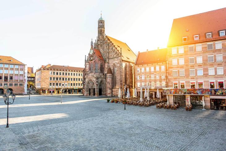 Inspiration für die Einlegearbeit - Stadt Nuernberg