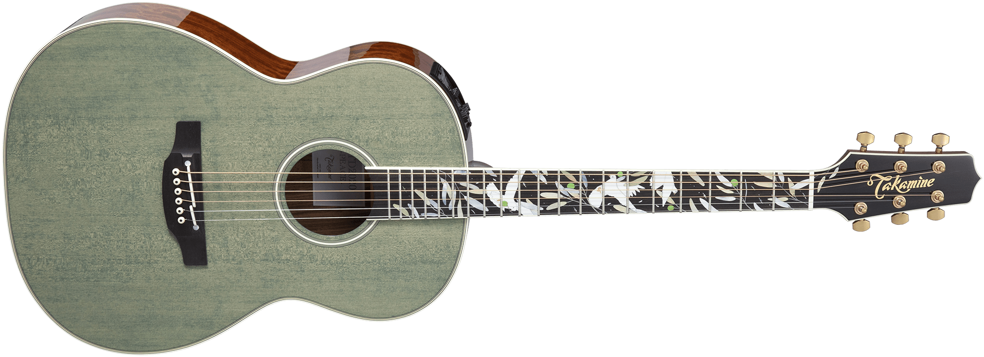 """Takamine 2020 """"Peace"""" - Front"""